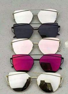 073df07824384 Óculos De Sol Feminino, Óculos Feminino, Óculos Gatinho, Oculos De Sol  Espelhado,