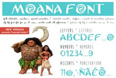 Moana font ttf instant download Police d'écriture Vaiana Photoshop, Moana Font, Moana Birthday, 4th Birthday, Big Letters, Police, Software, Fonts, Banner