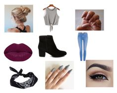 """Jay 2"" by midnighttt on Polyvore featuring Paige Denim, Winky Lux, ASOS and Steve Madden"