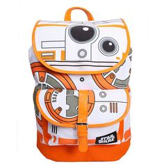 Star Wars The Force Awakens BB-8 Slouch Backpack Hot Topic ($36) ❤ liked on Polyvore featuring bags, backpacks, pocket bag, pocket backpack, pocket pouch, draw string bag and backpack bags