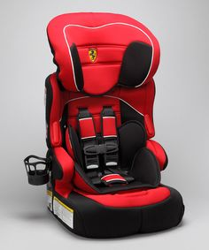 This Innovative Combination Car And Booster Seat Comes Emblazoned With  Ferrariu0027s Signature Rearing Horse Crest For All The Bragging Rights.