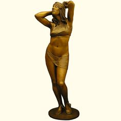 Delilah is the name of this bronze sculpture created by one of South Dakota's most popular artists, Benjamin Victor of Aberdeen. You can see a collection of his work at Rug & Relic in Sioux Falls.