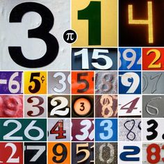 In its decimal form, pi never ends or repeats.