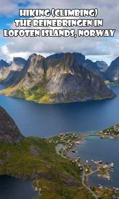 Hiking Lofoten Reine Bringen Norway
