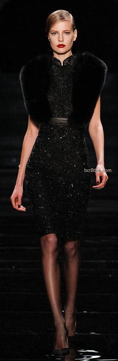 Reem Acra Fall Winter 2013 New York Fashion Week