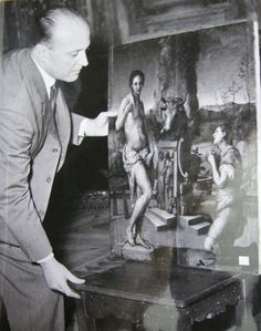 """Rodolfo Siviero, the real """"monument man"""". Florence City, Monument Men, Bataan, My Heritage, Art History, Detective, Les Oeuvres, Wwii, Opera"""