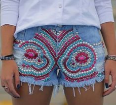 Boho Shorts, Jean Shorts, Africa Dress, Bohemian, Denim, Dresses, Women, Upcycle, Fashion