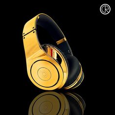Gold Monster Beats Headphone New Edition
