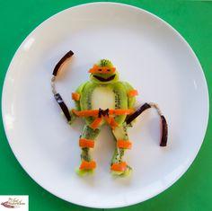 Kiwi Ninja Turtle - 11 nunchucks (1 of 1)