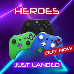 Purchase a top-of-the-line hero edition Xbox One controller now!🤩🎮 Xbox 360 Controller, Chrome Colour, All Brands, Xbox One, Hero, Top, Crop Shirt, Shirts