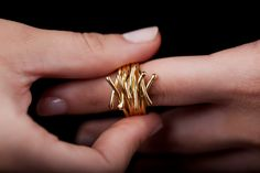 A personal favorite from my Etsy shop https://www.etsy.com/listing/212752262/branch-ring-branch-jewelry-branch-ring