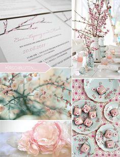 Frühlingssehnsucht: Hochzeitskonzept mit Kirschblüten…   Fräulein K. Sagt Ja