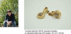 Christian BALMER Contemporary Jewellery, Switzerland, Christian, Jewelry, Rose Cut Diamond, Boucle D'oreille, Jewlery, Bijoux, Schmuck