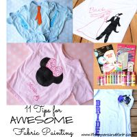 11 Fabric Painting Tips and Tricks - It Happens in a Blink