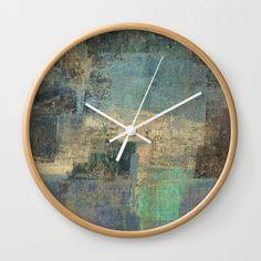Aral Sea Wall Clock