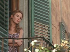 Diane Lane looks out the window Unthinkably good things can happen even late in the game. – Frances (Diane Lane) in Under the Tuscan Sun (Photo: blueeyednightowl) Great Movies, Movie Stars, Movie Tv, Diane Lane, Under The Tuscan Sun, Eleanor, 10 Film, Movies And Series, Movie Posters