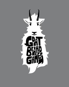 Goat Beard Games Logo by Jeremy Cole, via Behance