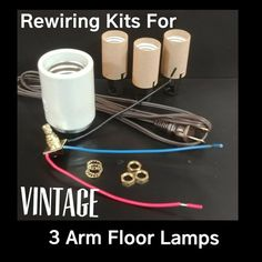 We offer complete lamp rewiring kits with detailed instructions and lamp rewiring kits for vintage 3 arm floor lamps with complete diagrams and instructions greentooth Gallery