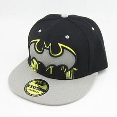 Batman Adjustable Snapback Hat Get snapback hats from www.hats-cool.com Cheap Snapback Hats Free Shipping: http://www.sosocool.us.com