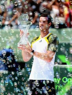 Andy Murray, campeão do Masters 1000 de Miami (Foto: Getty Images)