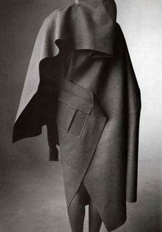 Junya Watanabe felt coat (back) -repinned by Los Angeles County & Orange County portrait studio http://LinneaLenkus.com #portraits