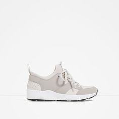 Image 1 of LACE-UP SNEAKERS from Zara