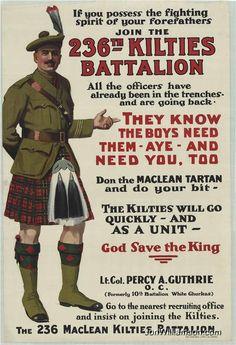 WW1 recruiter