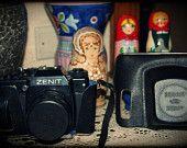 Soviet Vintage Reflex Camera Zenit 122 - Macchina fotografica Zenit 122