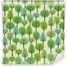 Saumaton malli vihreällä metsällä Vinyylitapetti Malta, Wallpapers, Plants, Wallpaper, Flora, Plant, Planting