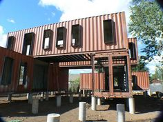 Shipping containers 137922807312055316 - Shipping Container Homes: Ecosa Design Studio – Flagstaff, Arizona – Six Shipping Container Home, Source by Container Homes For Sale, Cargo Container Homes, Storage Container Homes, Container House Design, Shipping Container Buildings, Shipping Container House Plans, Shipping Container Home Designs, Shipping Containers, Design Studio