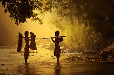 2 Village boys: Photo by Photographer Rarindra Prakarsa