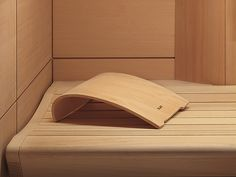 Lounge Sauna Headrest #klafs #sauna #bespoke #klafsmeansqualtiy #german #design #interiordesign