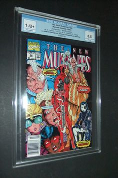 New Mutants # New Mutants 98, 8th Sign, Pinball, X Men, Marvel Comics, Deadpool, Nerd, Age, Baseball Cards