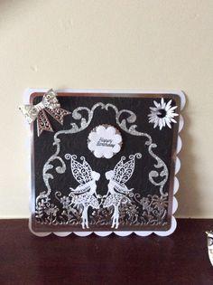 Made by Anne Bestwick #tatteredlace #cardmaking #birthdaycard