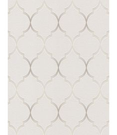 Fretwork Geometric Wallpaper Grey Rasch 701609 - Price Right Home - Wallpapers Designs Geometric Feature Wallpaper, Textured Wallpaper, Wall Wallpaper, Stunning Wallpapers, Stylish Beds, Trellis Pattern, Beaded Curtains, High Quality Wallpapers, Gray Background
