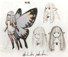 "stayinbedmedia:   Excerpt from ""Bravely Default Design Works""."