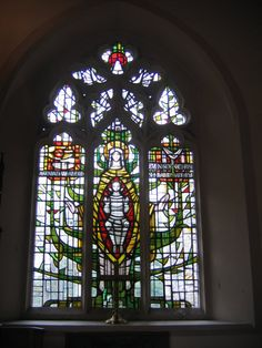 All Saints church Benhilton - window - geograph.org.uk - 1037895.jpg