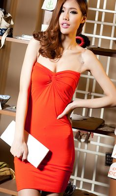 Be the most sexy party chick in the dress! One Shoulder, Shoulder Dress, Nightclub, Strapless Dress, Rock, Formal Dresses, Sexy, Party, Style