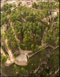 """Vista aérea Castillo """"Cerro de la Estrella"""" #Segorbe #Spain http://www.turismo.segorbe.es/turismo_es/"""