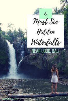 hidden waterfalls ubud bali ciaofelicia