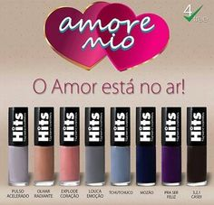 AMORE MIO - HITS Swatch, Eyeshadow, 1, Lipstick, Beauty, Manicure, Colorful, Finger Nails, Colors