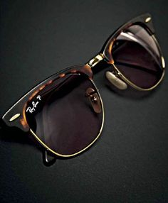 Ray Ban Clubmaster P Ray Ban Clubmaster Polarized Clubmaster Sunglasses, Mens Sunglasses, Modelos Ray Ban, Who What Wear, Glasses Trends, Denim Shirt Style, Best Leather Wallet, Discount Ray Bans, Cheap Ray Bans