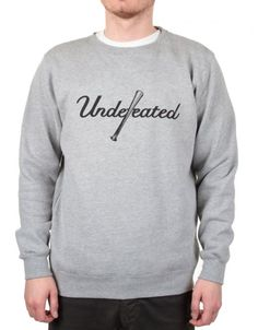 0284d6d139973 Buy Bat Day Sweatshirt - Grey Heather by Undefeated from our Clothing range  - Greys