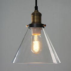 Americana de estilo clássico uma luz Pingente – BRL R$ 224,97