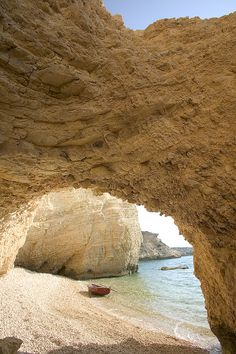 Koufonisia is a small complex of two islands, separated by a narrow channel (200 m wide) in Greece #nature