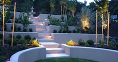 landscaping a yard with a hill | 19 Photos of the Backyard hill landscaping ideas in Texas