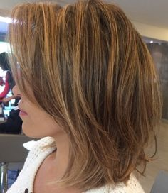 Golden Blonde Highlights For Brown Hair