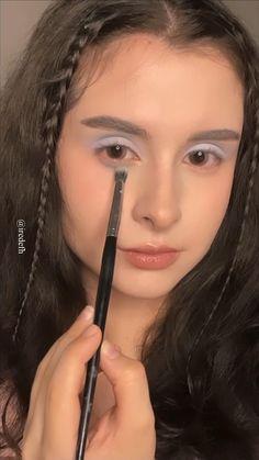Pink Eyeshadow, Colorful Eyeshadow, Eyeshadow Looks, Eyeshadow Palette, Beautiful Eye Makeup, Beautiful Eyes, Pretty Makeup, Makeup Goals, Makeup Inspo