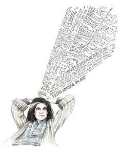 Susan Sontag on Art by Wendy MacNaughton