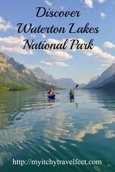 Tips for visiting Waterton Lakes National Park on a horseback adventure with Trail Riders of the Canadian Rockies. Travel fun in Canada!